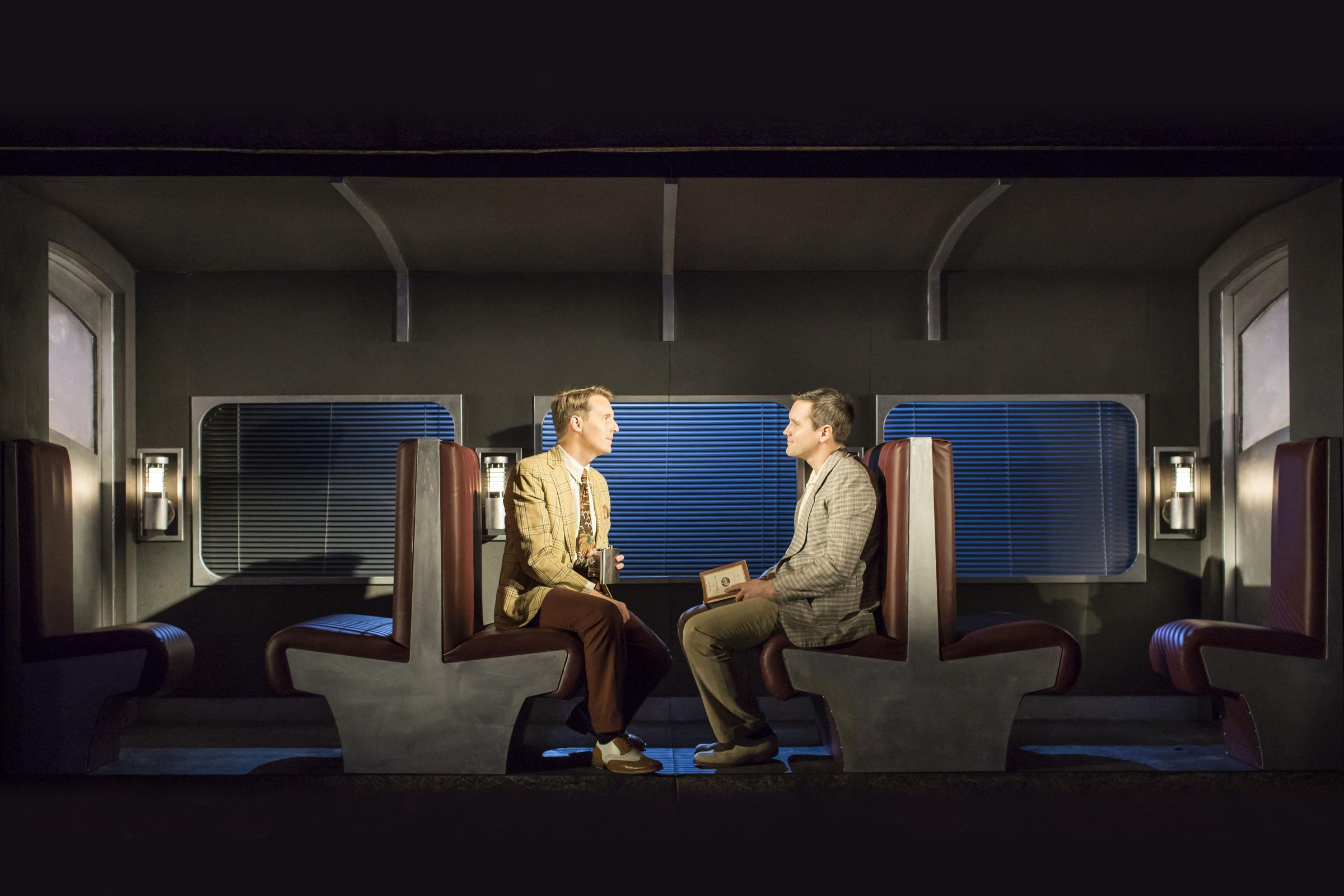 Christopher Harper and Jack Ashton in Strangers on a Train
