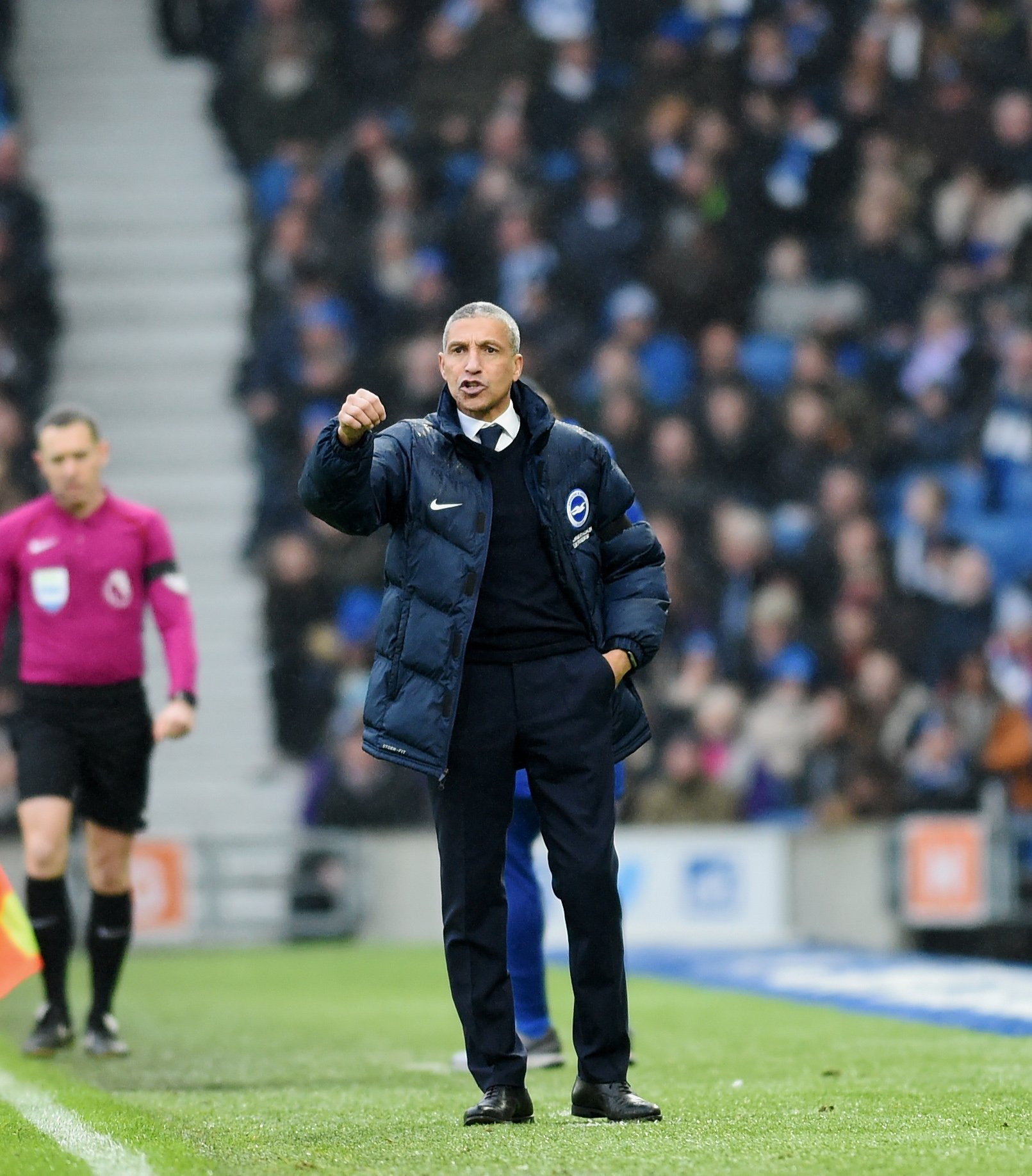 Chris Hughton wants more wins at the Amex