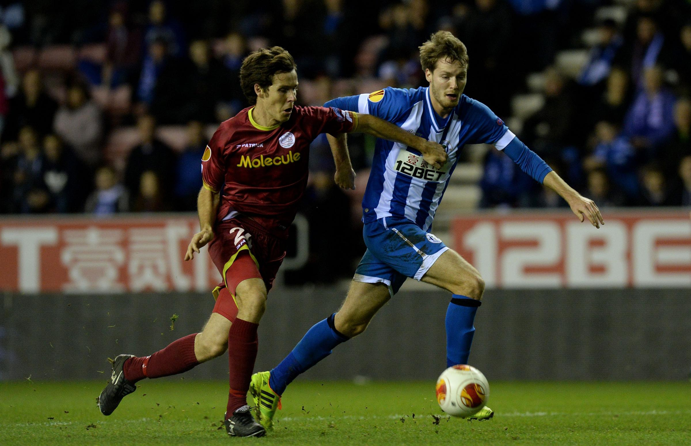 Nick Powell (right) will be monitored