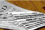 The Argus: Newspaper Delivery Stack