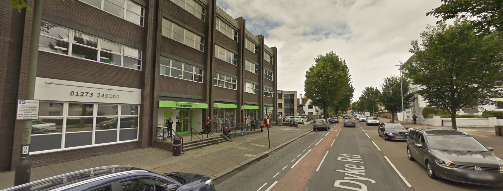The Co-op store in Dyke Road, Hove. Picture: Google Street View
