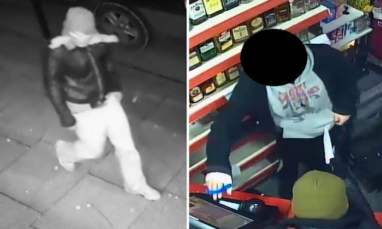 The robbery at Marvan's Newsagents in Brighton