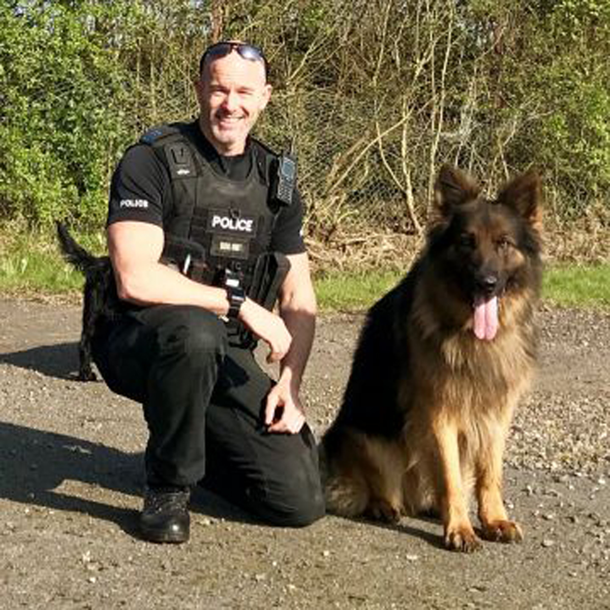 PC Mark Fox with PD Max