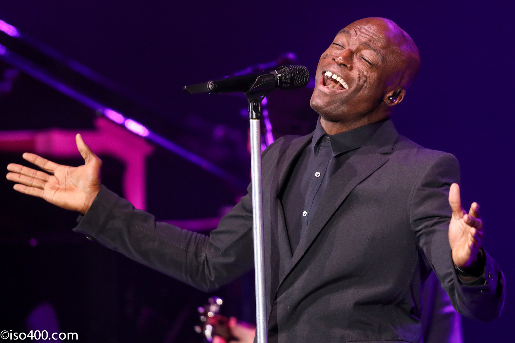 Seal at Brighton Dome. Picture: Mike Burnell