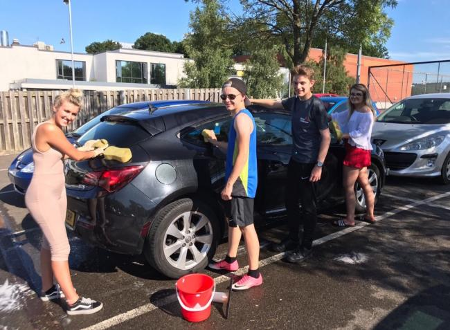 Students Work Together To Raise Money For HIV Clinic.