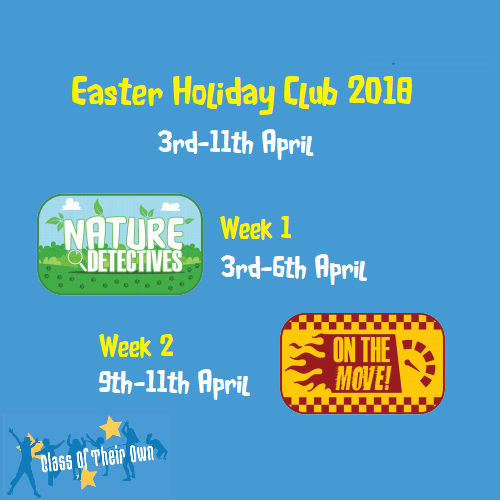 Easter Holiday Clubs
