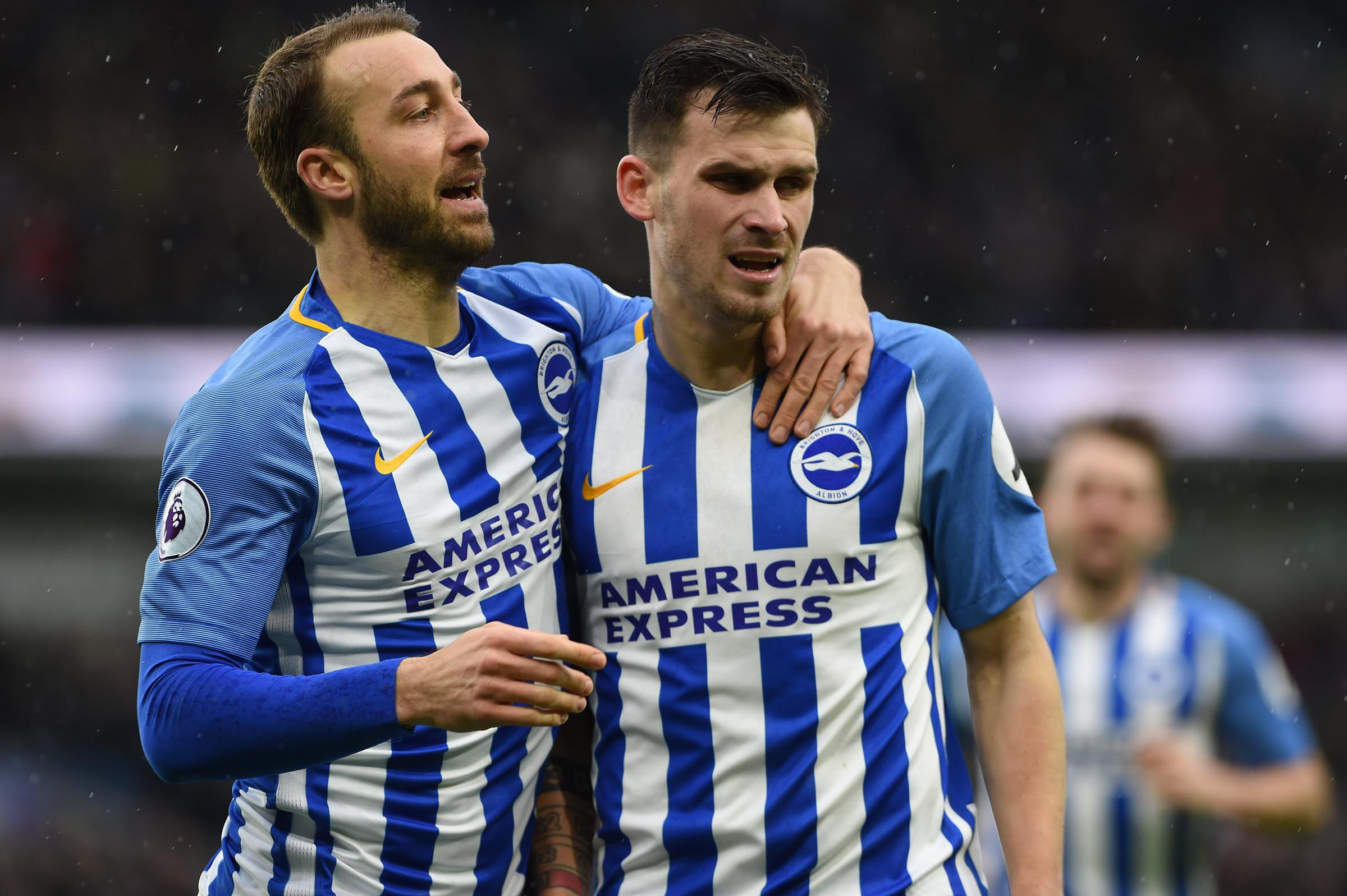 Glenn Murray says Pascal Gross loves to create chances