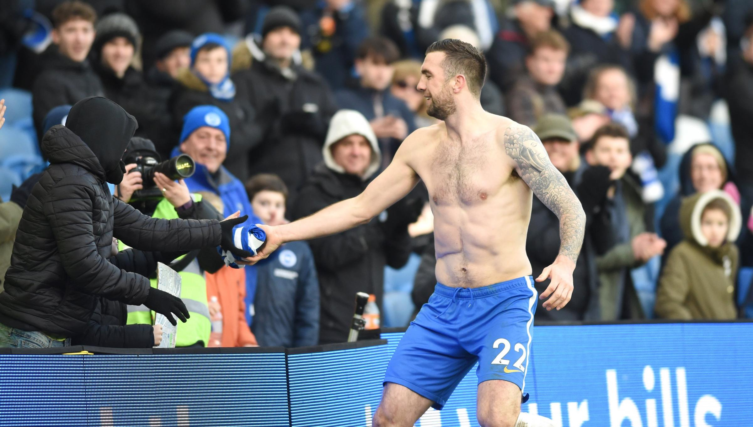 Albion have put their shirt on Shane Duffy - and he has delivered towering displays