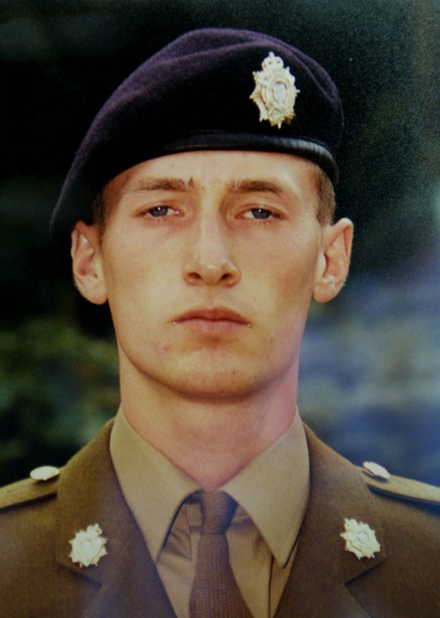 Private Sean Benton died in 1995