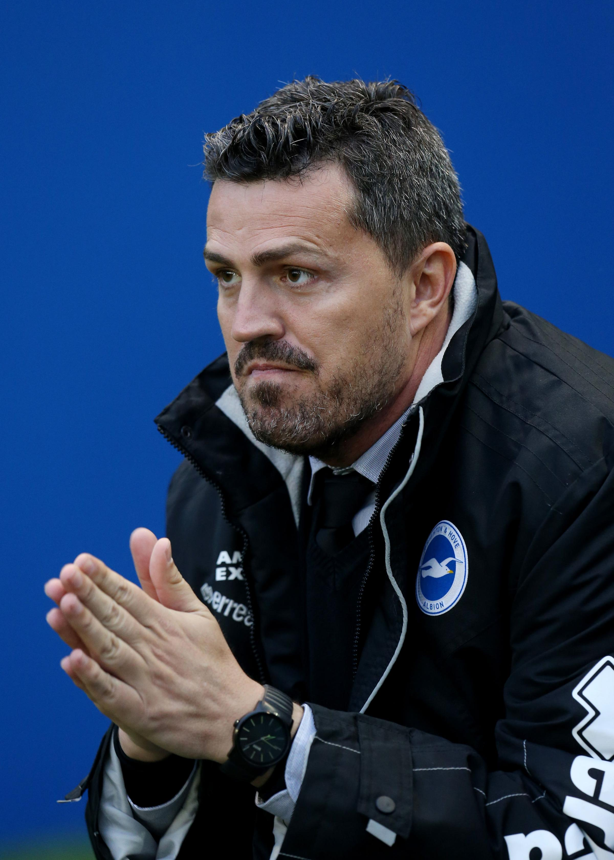 Former Albion boss Oscar Garcia is praying for some luck in his managerial career
