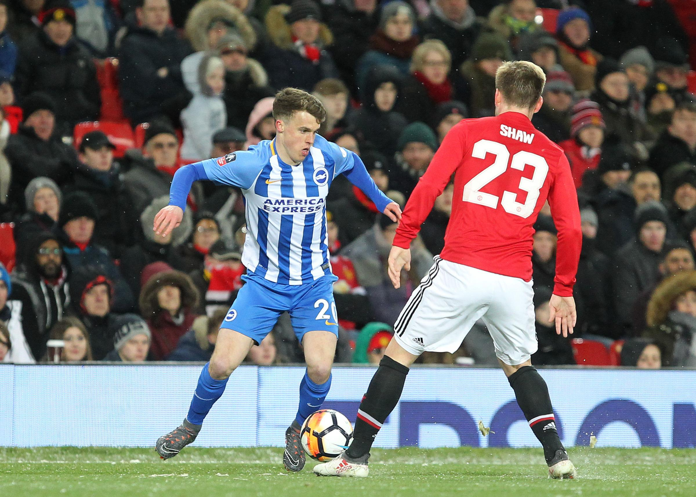 Solly March has not started for Albion in the FA Cup since the quarter-final exit against Manchester United at Old Trafford a year ago