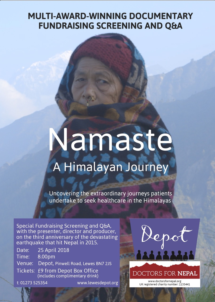 "Film screening of ""Namaste: A Himalayan Journey"""