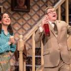 The Argus: Betty and Frank, played by Sarah Earnshaw and Joe Pasquale