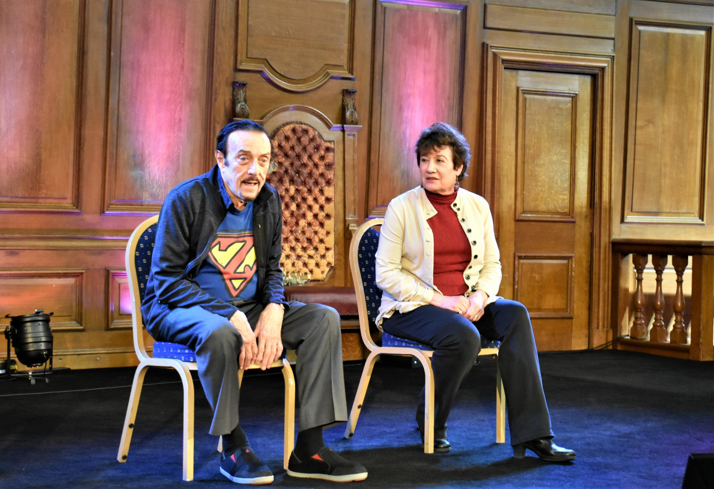 Dr Zimbardo and his wife