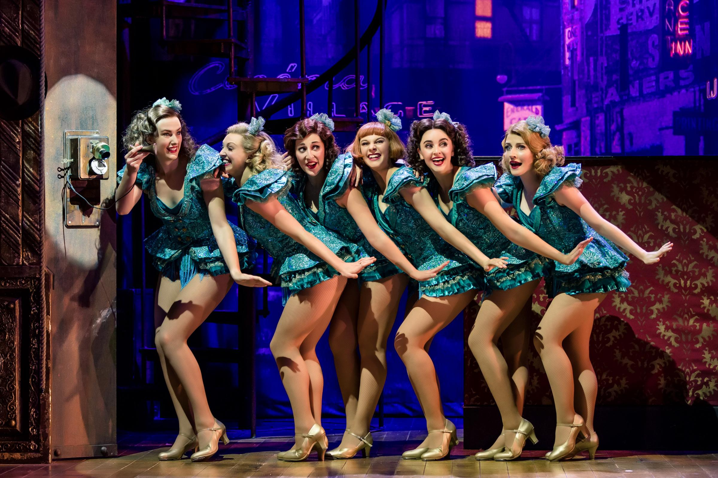 Crazy for You at the Theatre Royal, picture by Richard Davenport