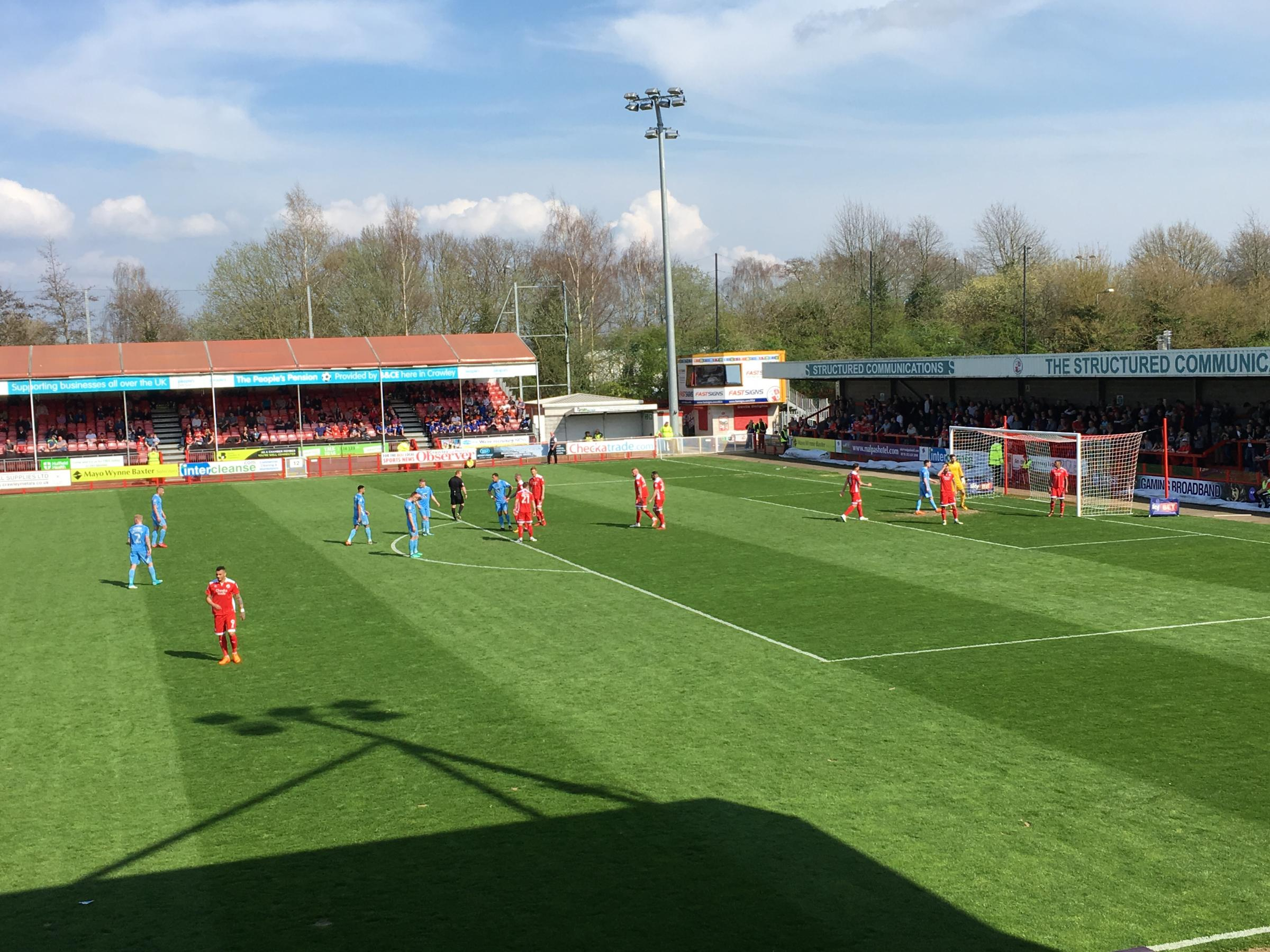 Crawley 1 Coventry 2: Reds outclassed