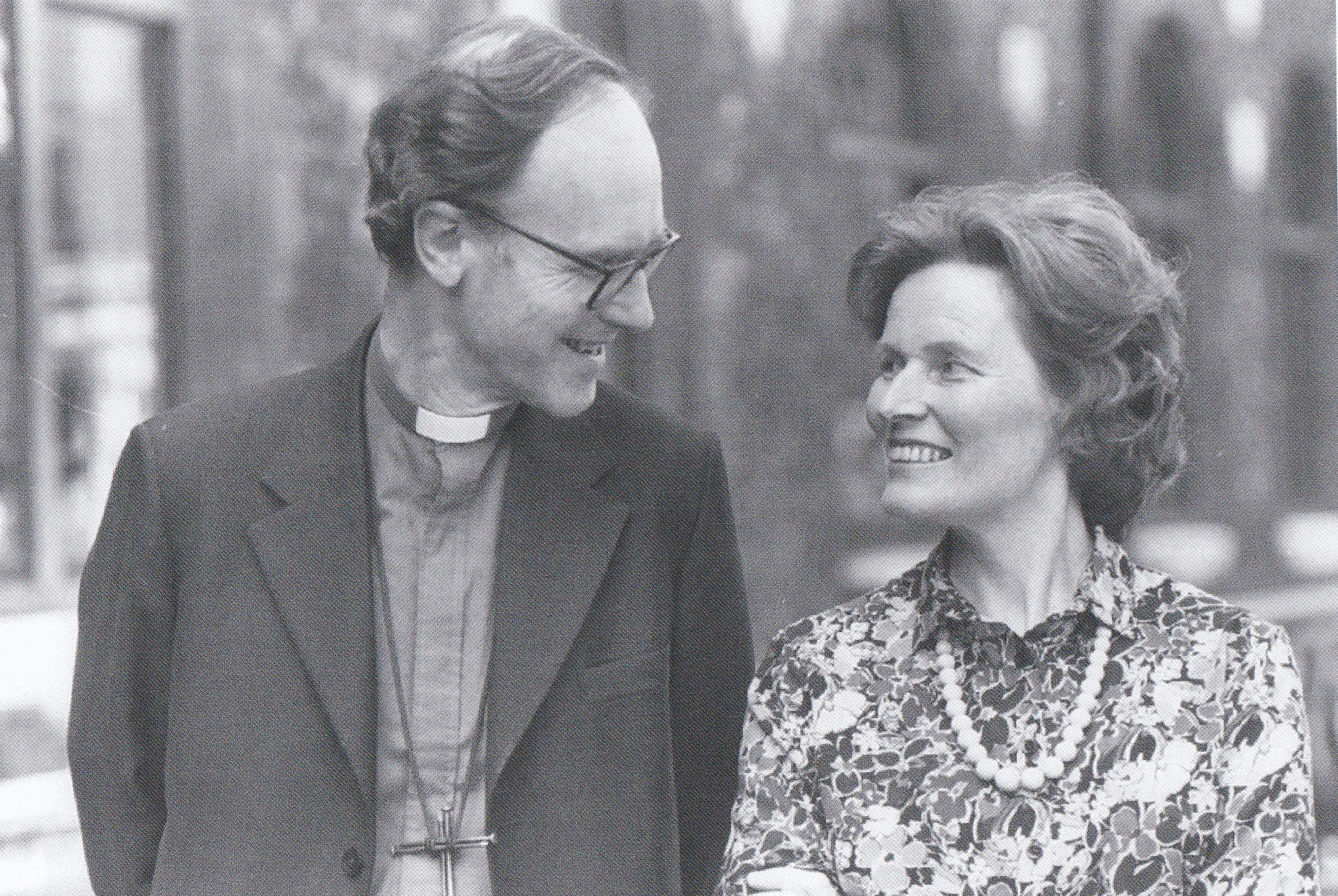 Bishop Ronnie Bowlby with his wife, Liz