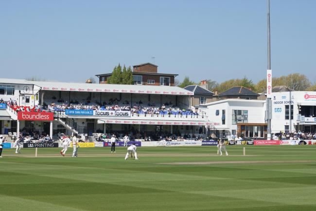 Sussex moved into a lead by tea at Hove