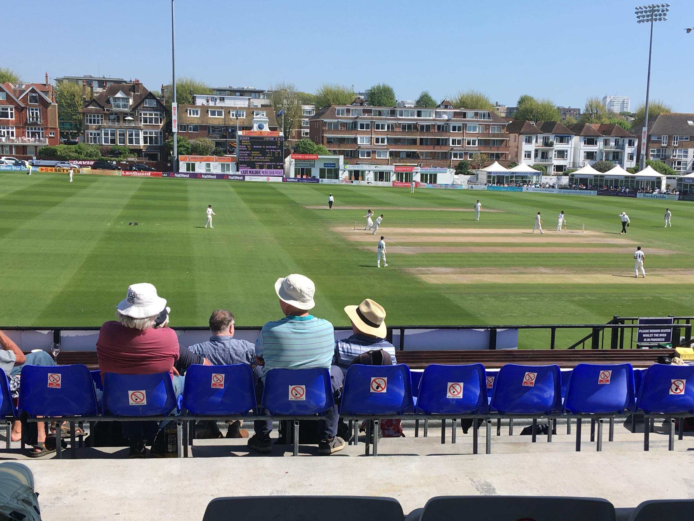 Sussex win - and Brown praises the man who helped him see it through