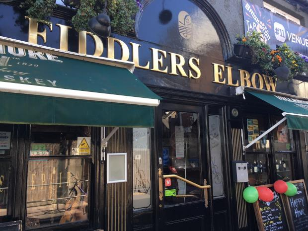 The Argus: The Fiddler's Elbow pub in Brighton