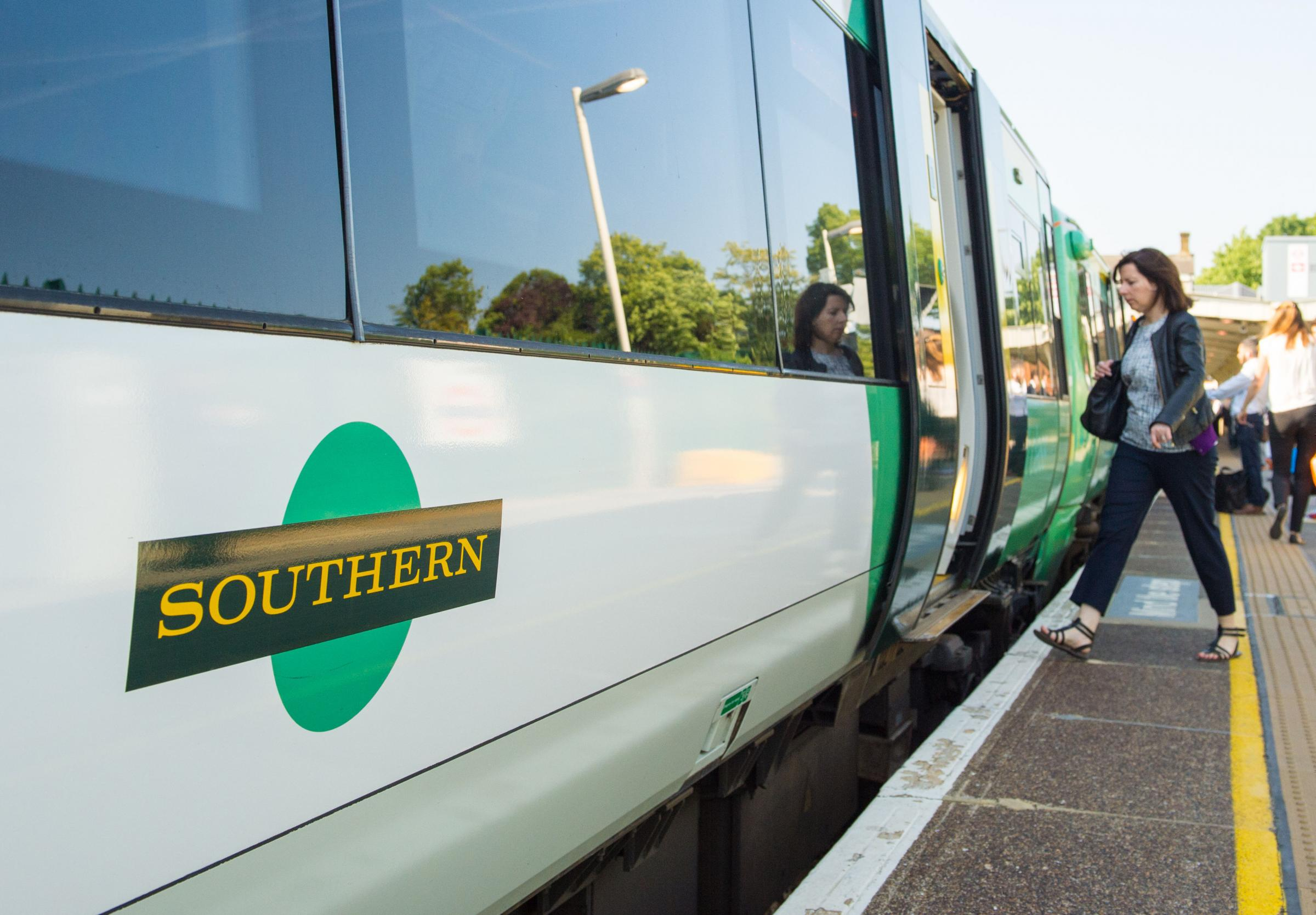 File photo dated 11/06/15 of a Southern rail train. House price growth has slowed to around a third of its previous levels in areas where commuters have been affected by the Southern railway strikes, according to a property website. PRESS ASSOCIATION Phot