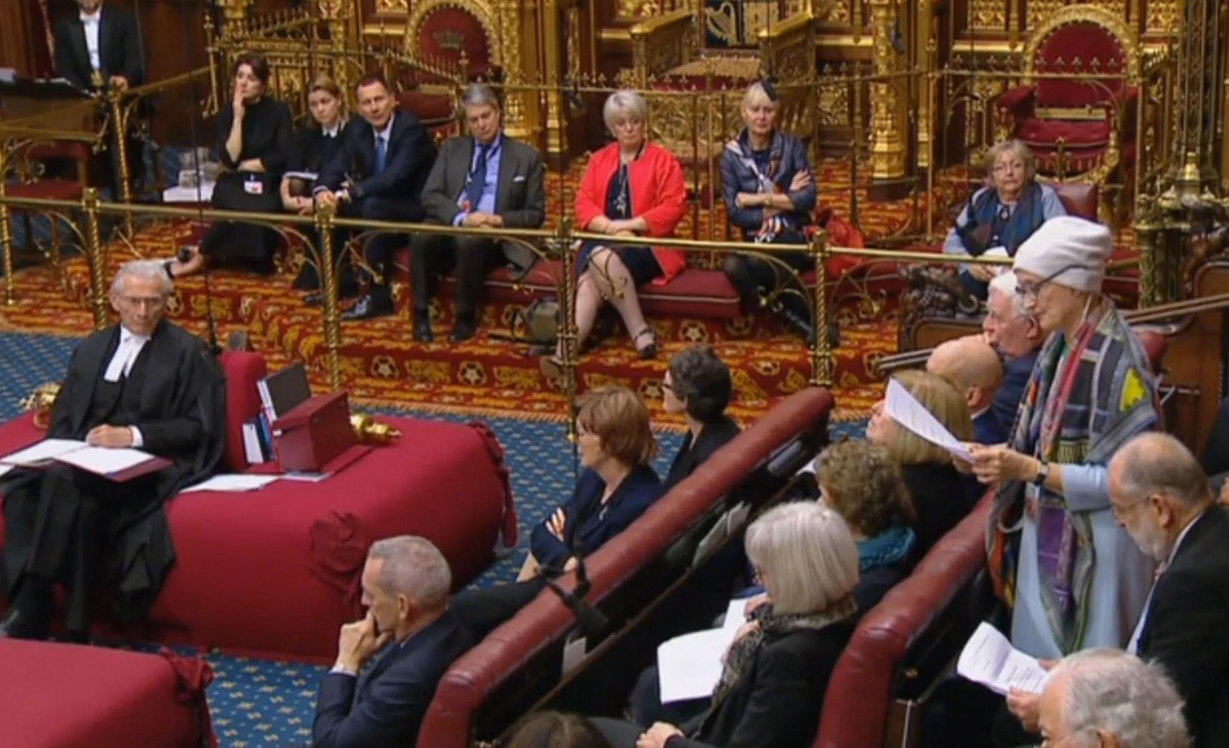Former Labour frontbencher Tessa Jowell was popular across the political divide and her speech to the House of Lords led to her being given a much-deserved standing ovation