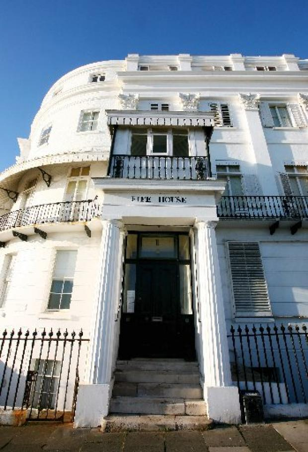 Squatters leave £1.75m Regency home