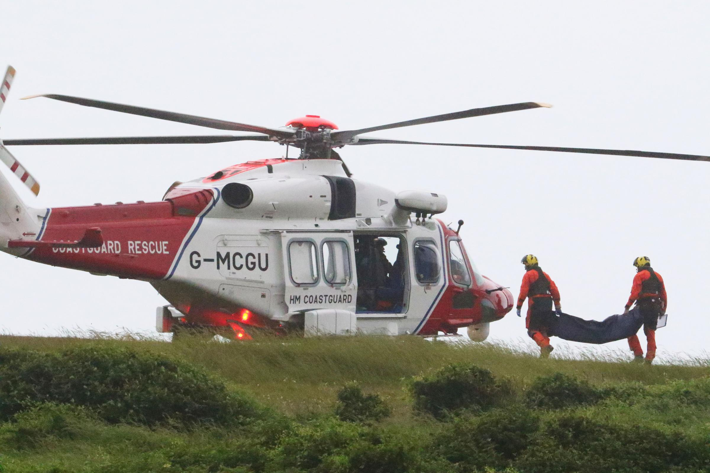 Bodies were recovered from Beachy Head