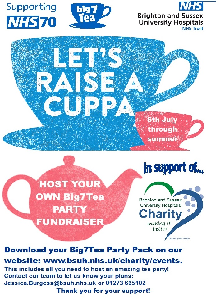 NHS 70th Birthday Big7Tea Party