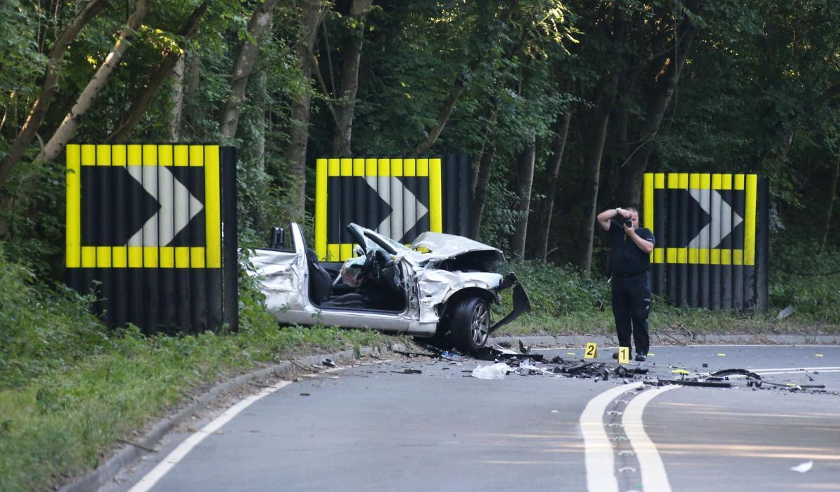 police at a29 bury hill crash | the argus