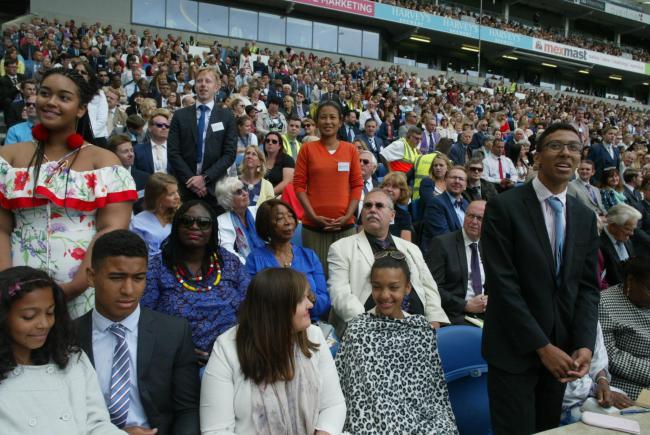 Jehovah's Witnesses at Amex Stadium, Brighton | The Argus