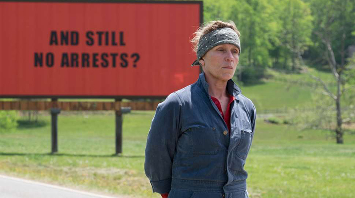 Blockbuster: Three Billboards Outside Ebbing, Missouri