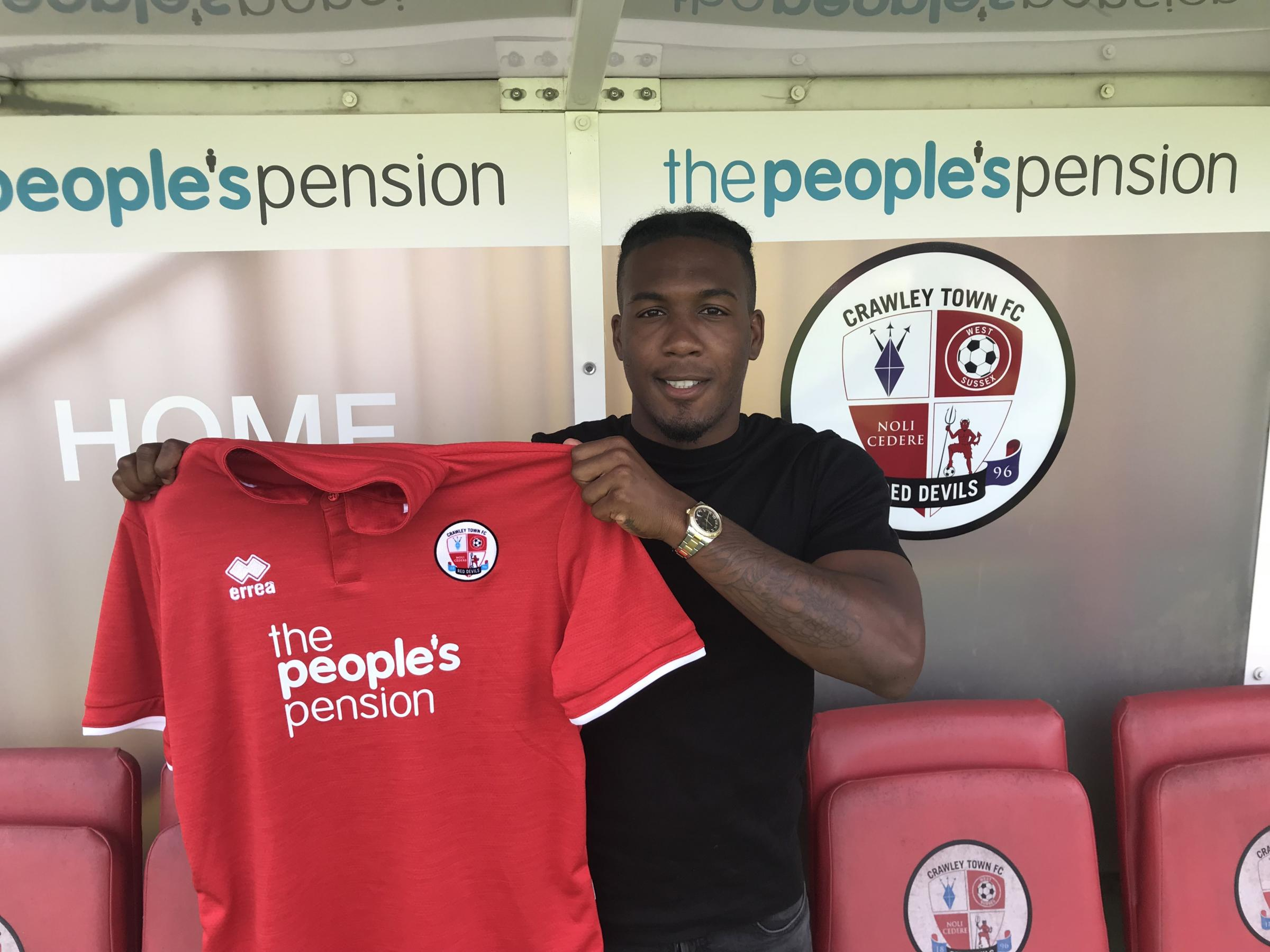 Dominic Poleon has signed for Crawley Town