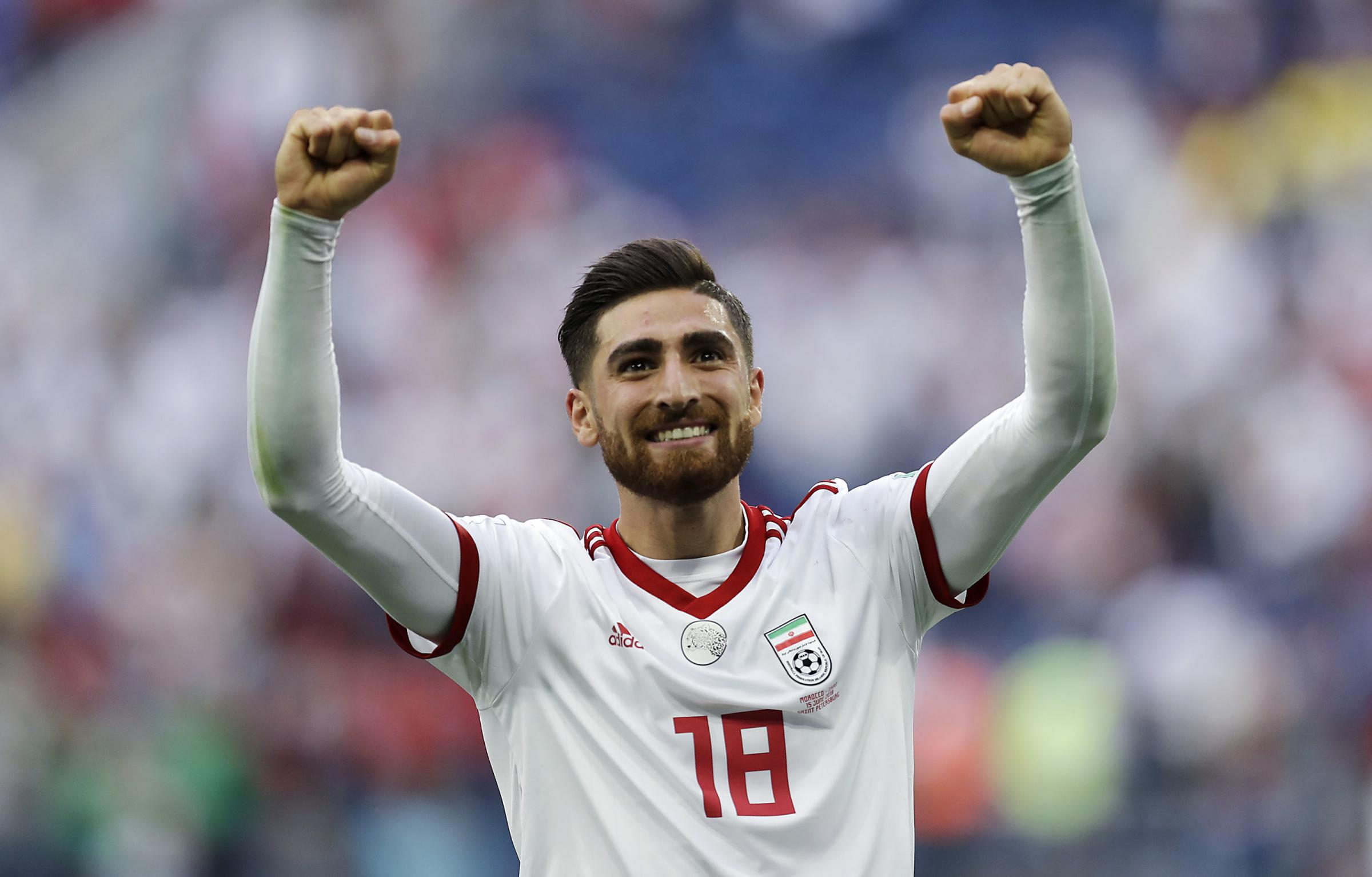Iran's Alireza Jahanbakhsh has long been linked with a move to Albion