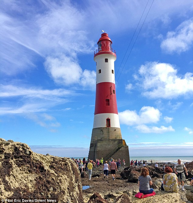 Here's a great chance to walk around this iconic lighthouse on Saturday