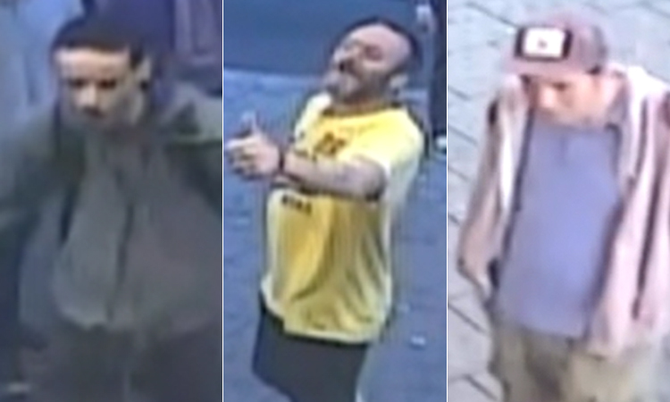 Three men are wanted in connection with a fight at Burger King, Brighton