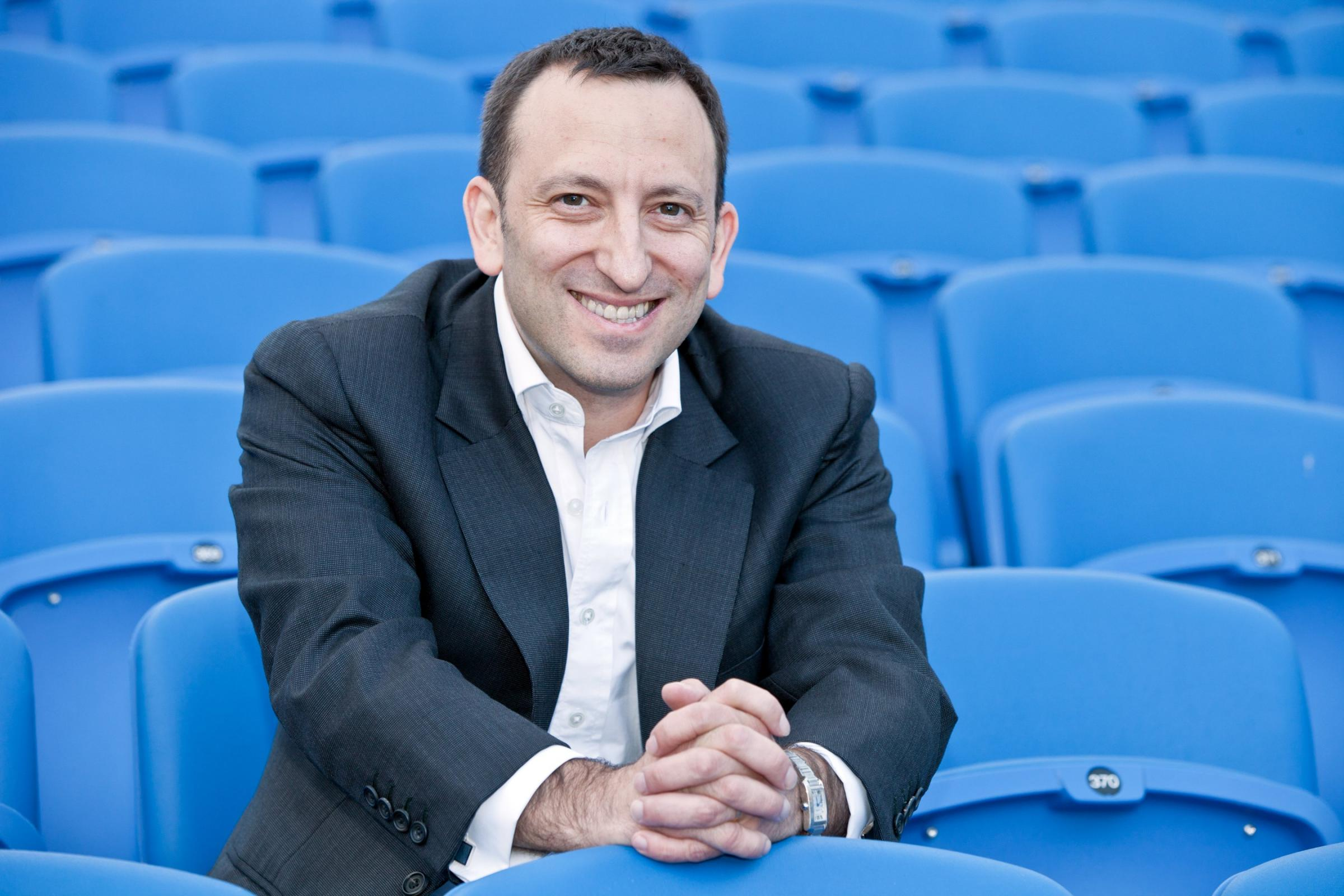Tony Bloom. Picture: Paul Hazlewood