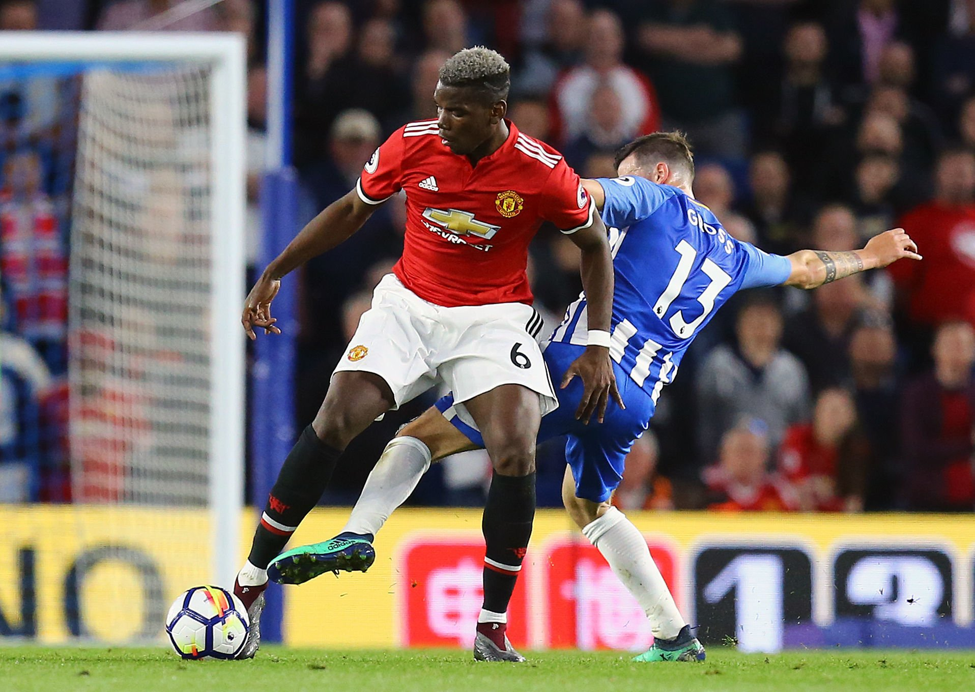 Pogba misses training as United plan for Albion
