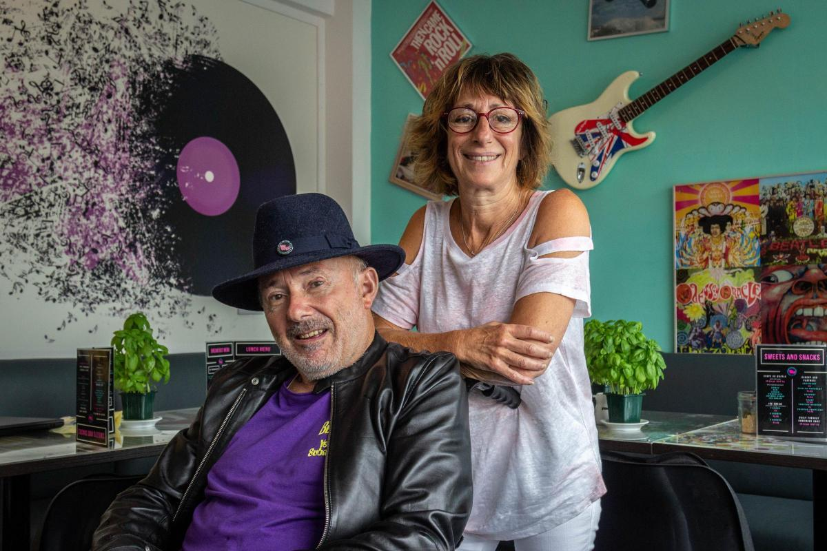 Couple overcomes hardship to open Viva Vinyl record shop in