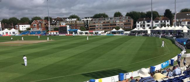 Sussex lost heavily at Hove