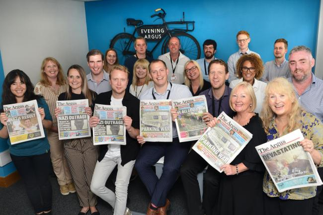 The Argus tops the readership charts   The Argus