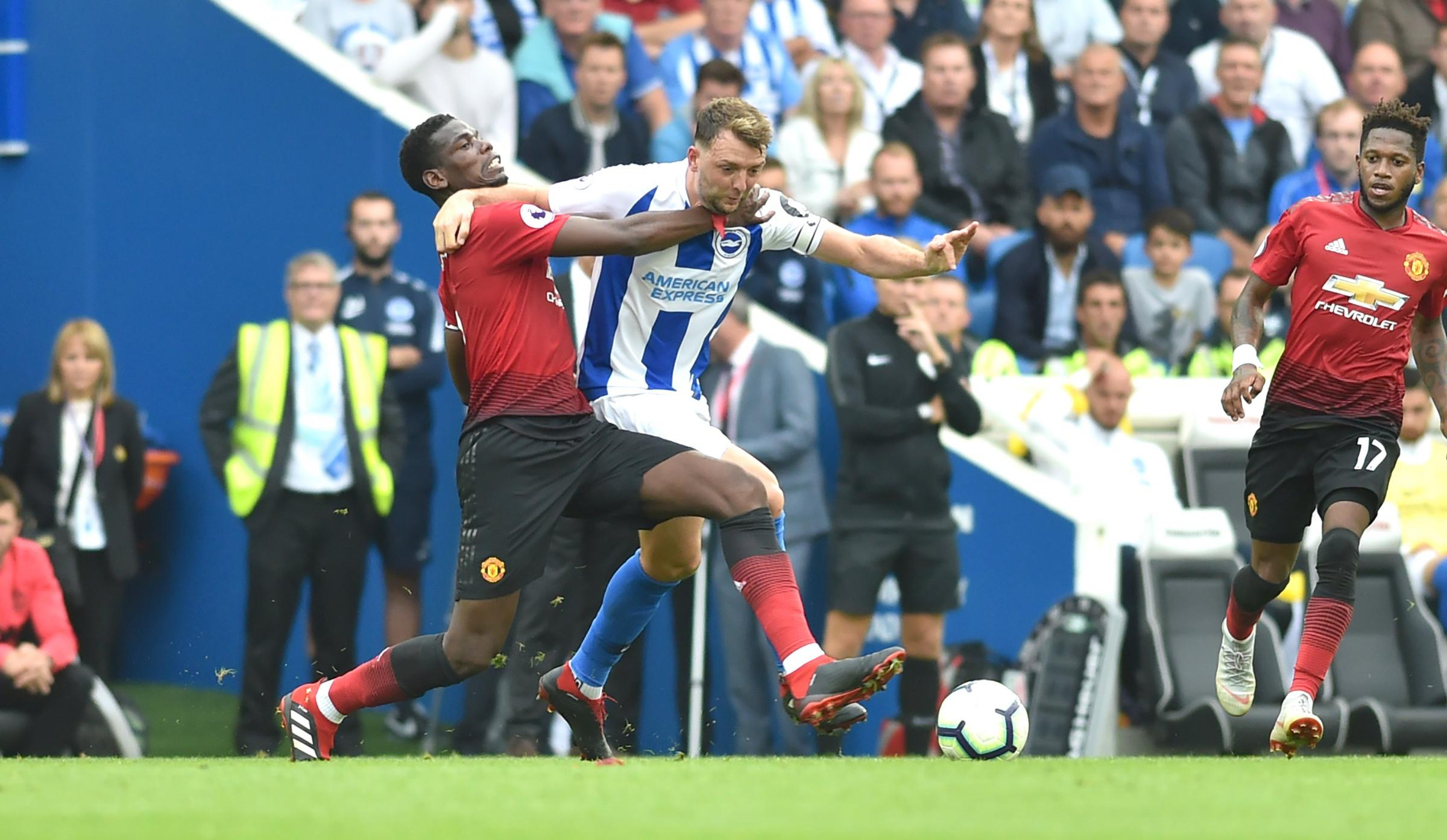 Pogba says United have learnt their lesson from the Amex