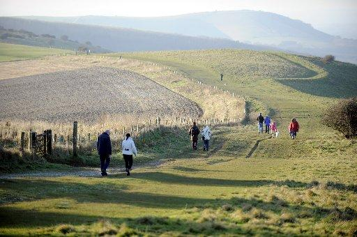NATIONAL PARK: The South Downs