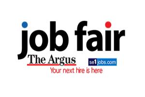 The Argus is holding its next job fair soon - a great opportunity for employers and potential employees to meet each other. More details here >