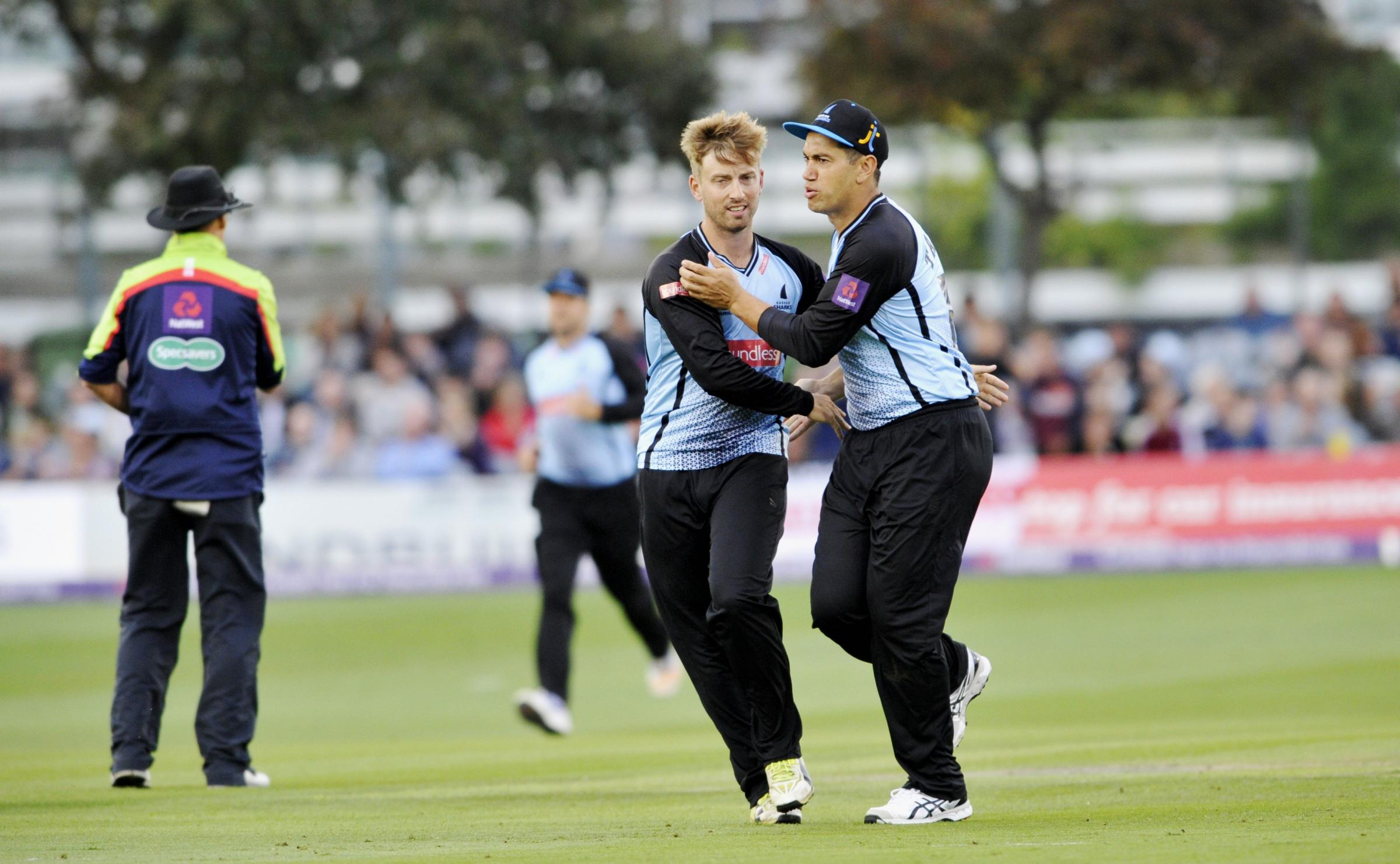 Will Beer has a lot of T20 experience with Sussex Sharks