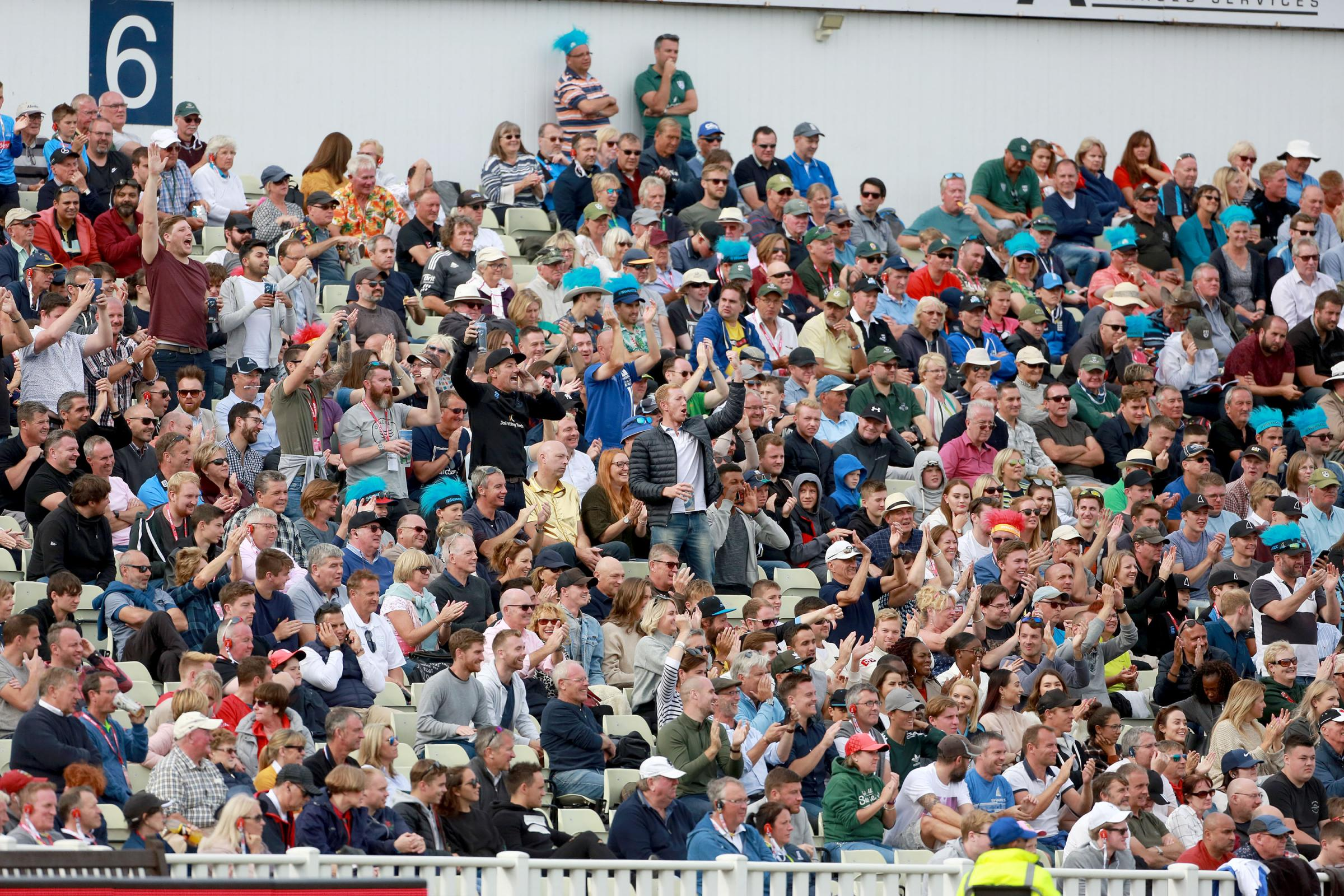 Luke Wells was in the crowd roaring on Sussex at Finals Day