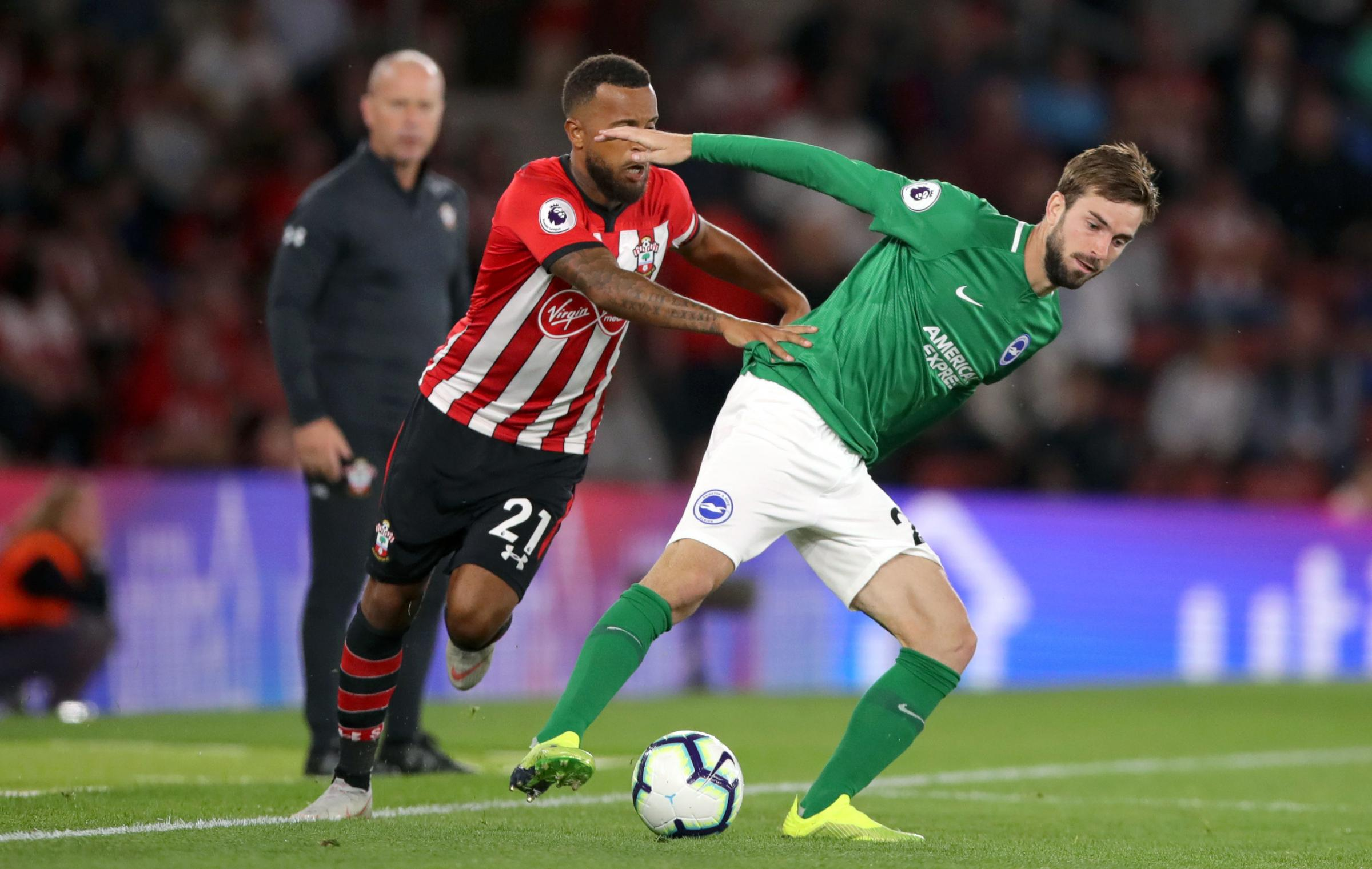 Davy Propper was a key man in Albion's improvement at Southampton