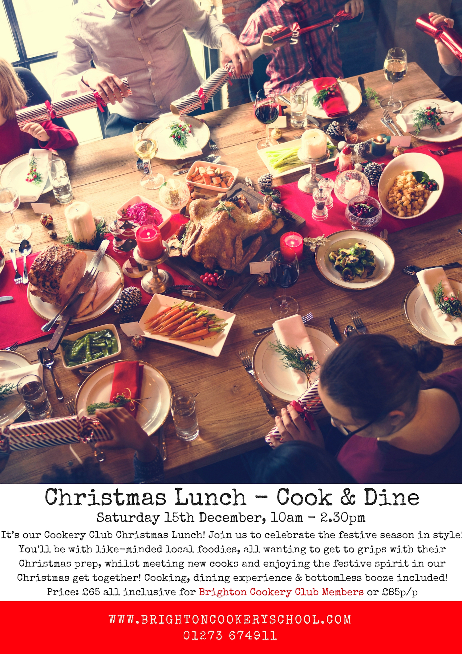 Christmas Lunch Cook & Dine