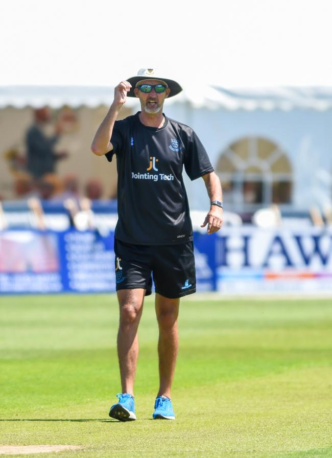 Jason Gillespie has flown back to Australia