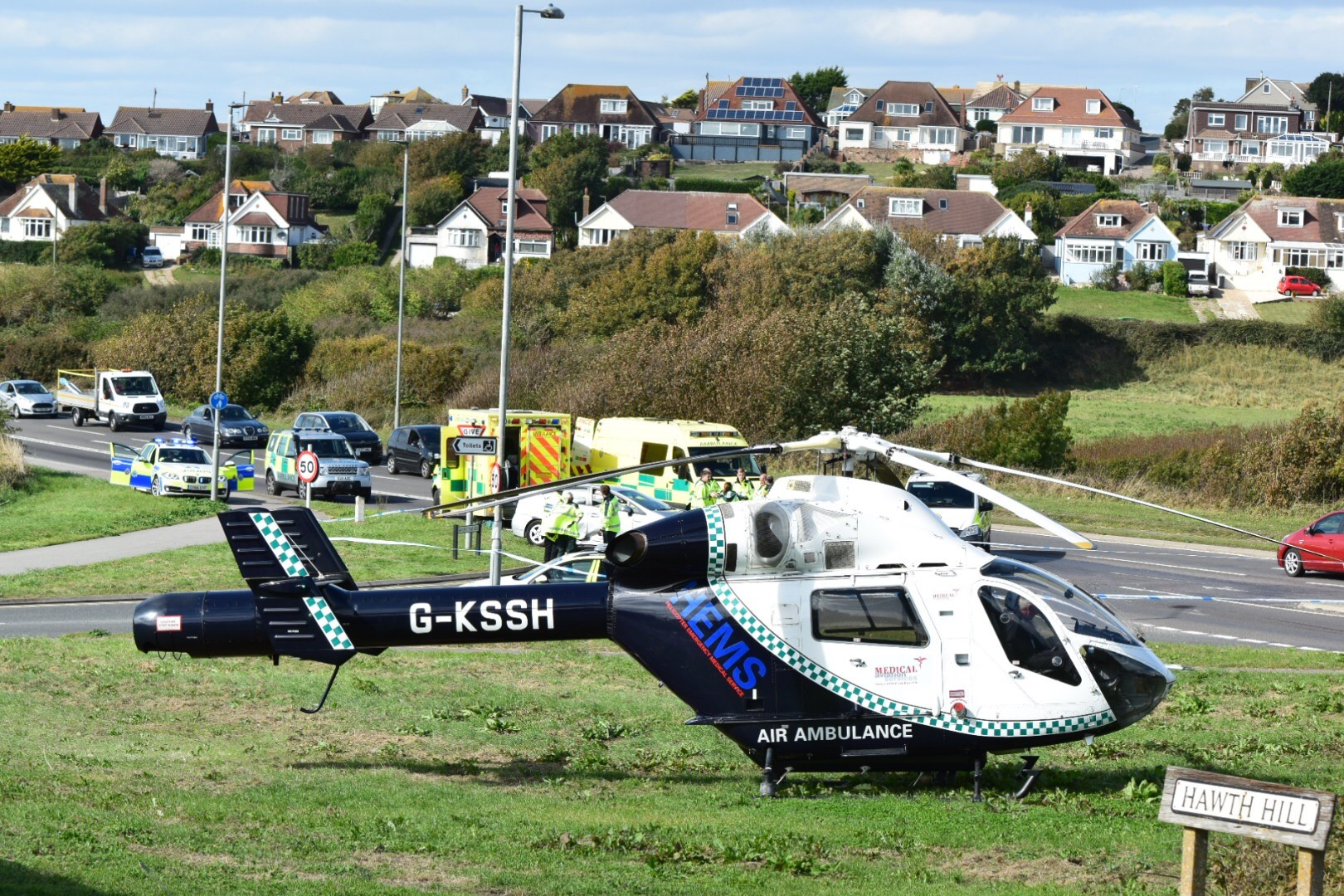 BREAKING: Motorcyclist dies after crash on A259 Seaford